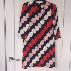 EUC polka dot Kate spade dress 0